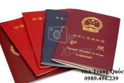 Hồ sơ xin visa trung quốc đầy đủ
