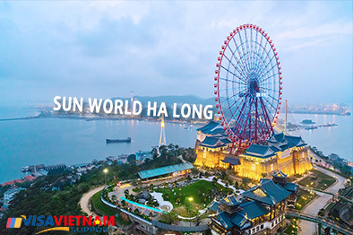 Having fun all day long at Sun World Ha Long Park