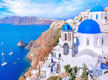 Greece is open to tourism, and the health of travelers is the number one priority
