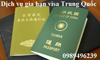 Procedure for extending Chinese visas to Chinese in Vietnam