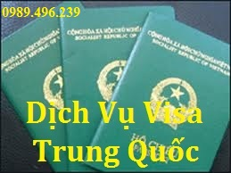 Chinese (Fast and Cheap) visa application service in Hanoi